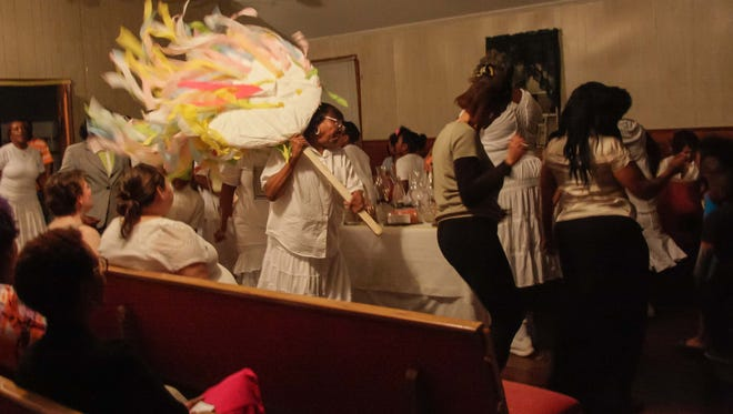 Easter Rock is an Easter vigil held at Original True Light Baptist Church in Winnsboro every year..