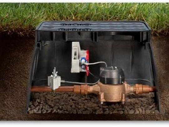 Home Gas Meter And Meter In Water : Murfreesboro water system to replace home meters