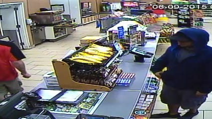 Suspect in Cape Coral 7-Eleven armed robbery Tuesday morning.