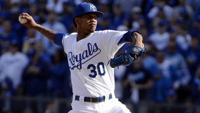 Kansas City starting pitcher Yordano Ventura will be on the mound for the Royals in Game 6 on Friday.