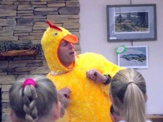 A dancing chicken is nothing to cluck about.