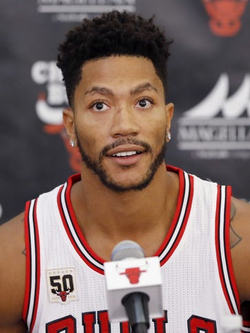 Chicago Bulls' Derrick Rose could be back as early