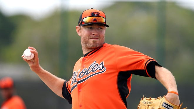 Chris Tillman allowed one run in four innings.vs. the Pirates.