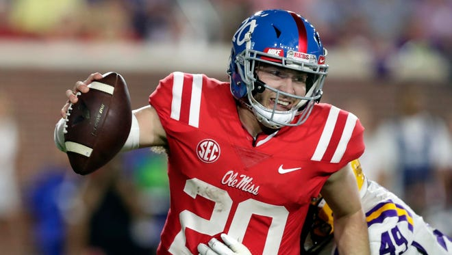 Shea Patterson hopes to play quarterback in Maize and Blue this fall.