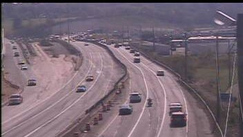All lanes of I-75 NB at Mitchell Avenue opened at about 3:30 p.m.