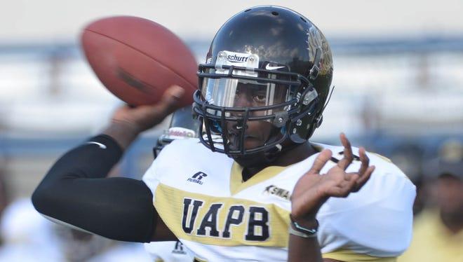 Arkansas-Pine Bluff quarterback Benjamin Anderson Jackson State.