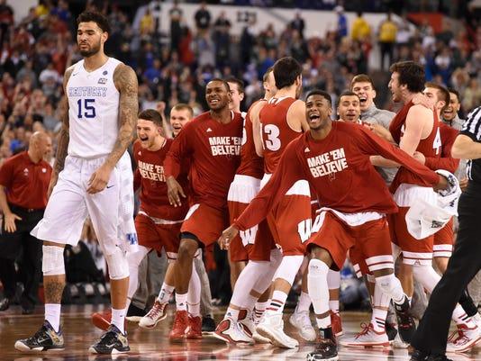 USP NCAA BASKETBALL: FINAL FOUR-WISCONSIN VS KENTU S BKC USA IN
