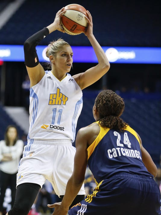Elena Delle Donne, Tamika Catchings
