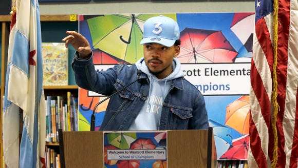 Chance the Rapper is one benevolent guy.