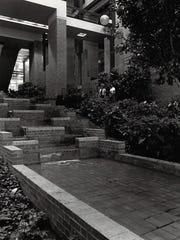Hercules Plaza's atrium, seen here in a 1983 file photo,