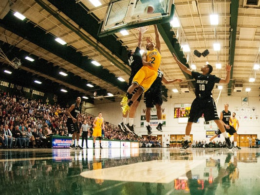 Binghamton vs. Vermont Men's Basketball 01/19/15