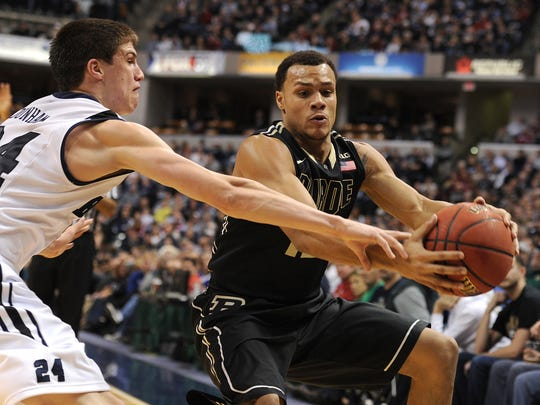 Purdue's Bryson Scott will be counted on to provide needed ball-handling.