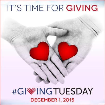 Giving Tuesday is set Dec. 1, 2015 in the Twin Lakes