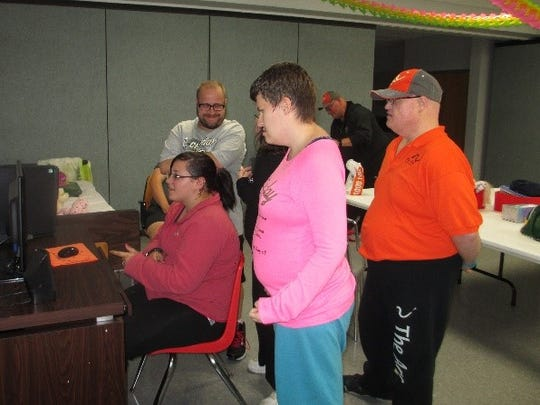 Fondy Idol participants practice for their performance on Nov. 10.