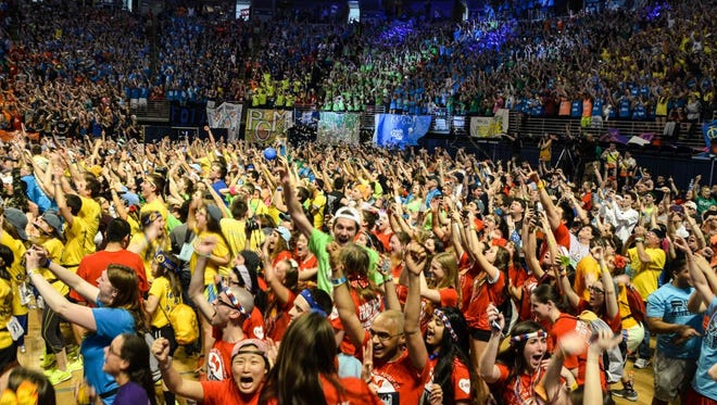 THON, the largest student-run philanthropy in the world, culminates in a 46-hour dance marathon after a year's worth of fundraising.