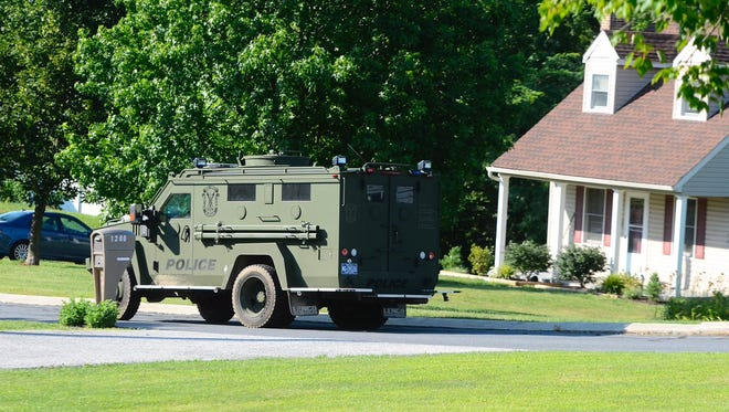 The York County Quick Response Team was called in during a standoff Sunday, July 2, 2017, in East Manchester Township. John A. Pavoncello, jpavoncello@yorkdispatch.com