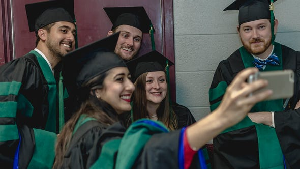 LSU Health Shreveport spring commencement was May 26,
