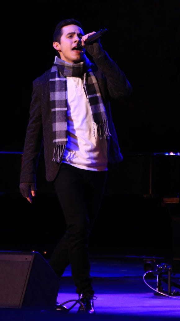 David Archuleta performed back-to-back shows Friday and Saturday at Tuachan Amphitheatre in Ivins City.