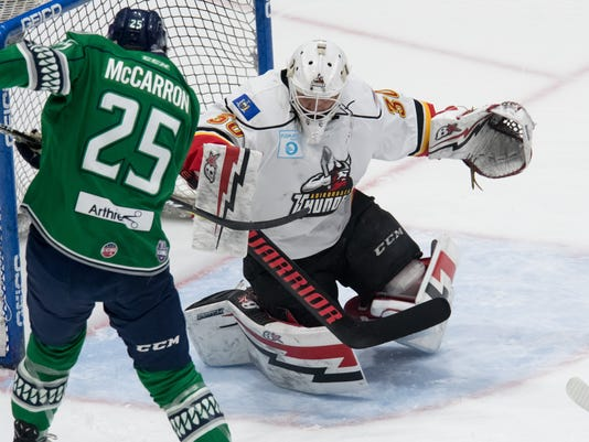 Round 3 Game 5 - Everblades at Thunder