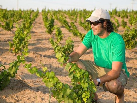Carter Oosterhouse co-owns Bonobo Winery on Traverse