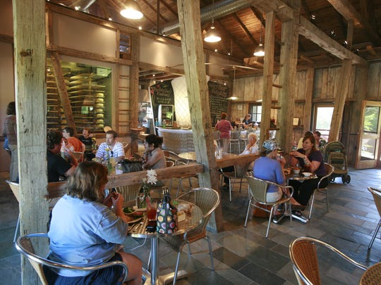 The Loft Restaurant and Dairy Bar at Traders Point Creamery, 9101 Moore Road, Zionsville.