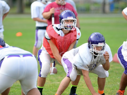 Senior leader Brett DeJardin is back at quarterback for Green Bay West.