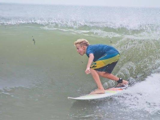 Kai Cheatham Surfing