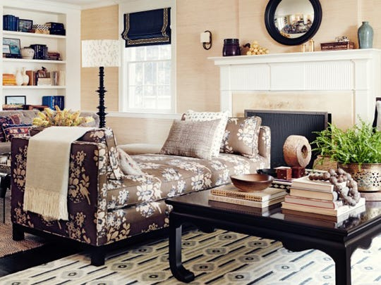 A strategic furniture layout turns a large room into