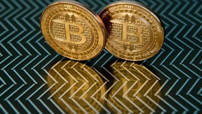 Bitcoin prices hit a record high Thursday.