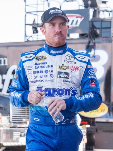 Brian Vickers ran only two races last season before