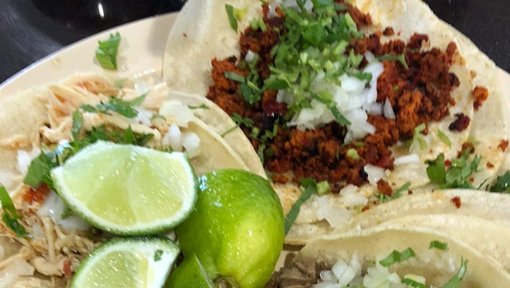 Authentic tacos are a specialty of ZaZa Mexican restaurant,