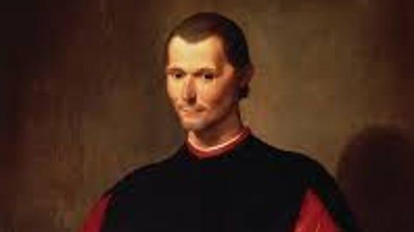 Niccolò Machiavelli, before he joined the Arizona Legislature
