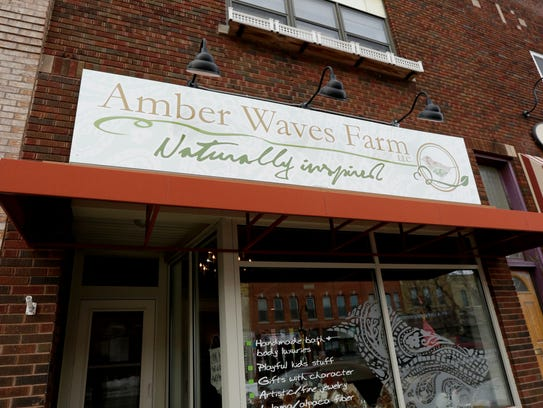 Amber Waves Farm, a business in downtown Marshfield