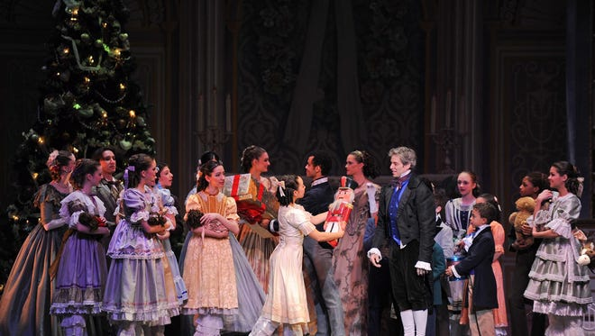 Clara receives a nutcracker as a Christmas present, and the magic begins!
