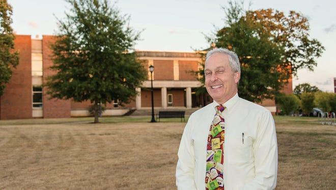 Tony Johnston is director of the new Fermentation Science degree program at MTSU.