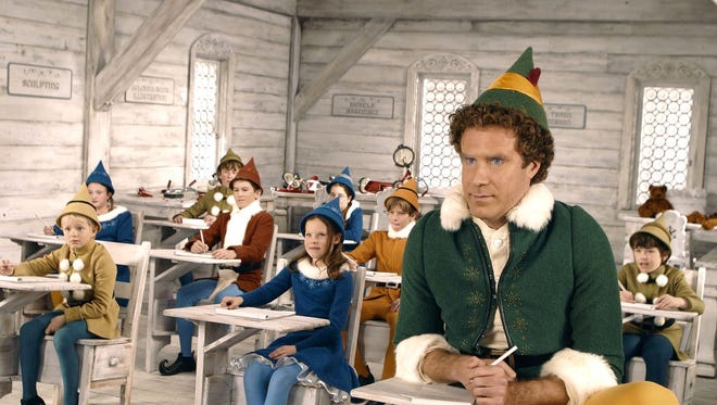 """Will Ferrell stars as an overgrown elf in """"Elf."""" The film is showing at 7 p.m. Dec. 6 at the Historic Elsinore Theater. $6."""