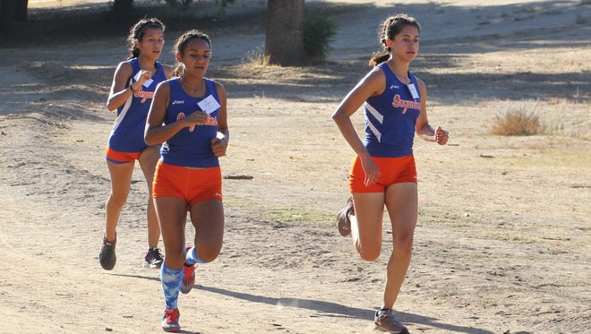 The College of the Sequoias women's cross country team won the 2017 Central Valley Conference title.
