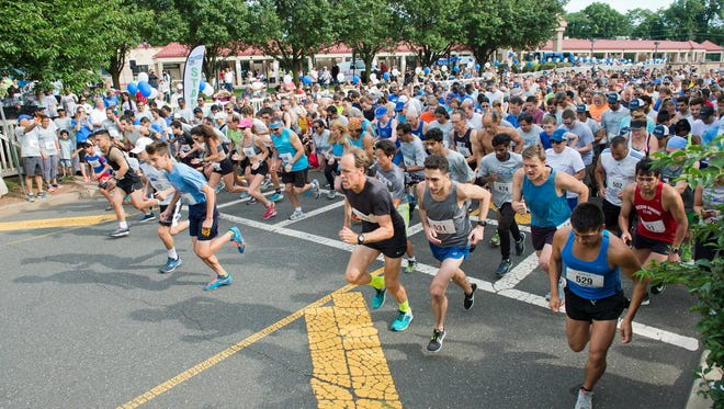 The 10th Annual Miles for Minds 5K took place on Sunday, July 29, at Roosevelt Park in Edison.