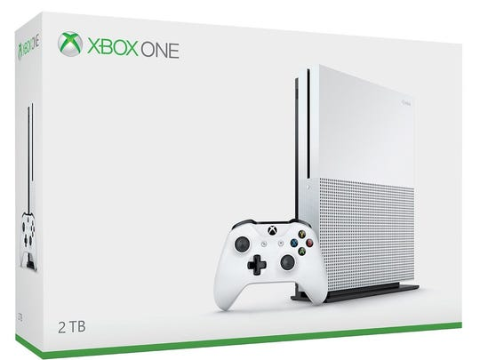 The sleek 4K XBox One S video game system was released over the summer.