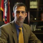 Congressman Tom Cotton, R-Ark., is pictured here in his Capitol Hill office.