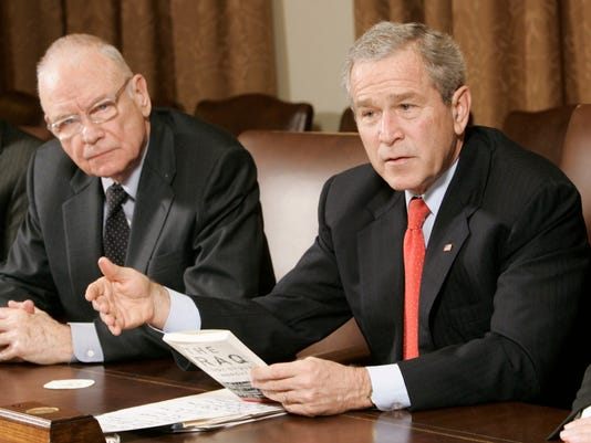 George W. Bush, Lee Hamilton