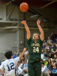 CMR's Sam Vining was one of the best 3-point shooters