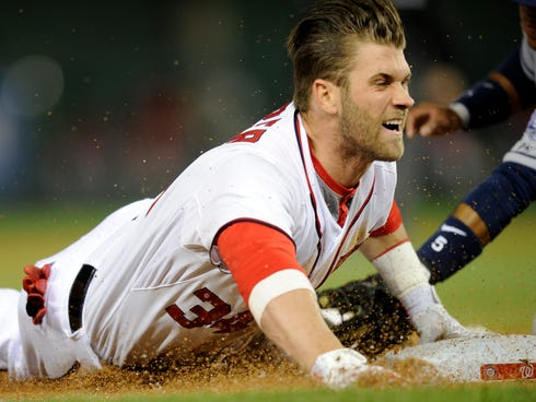 Galerry Report Bryce Harper needs thumb surgery will miss two months For