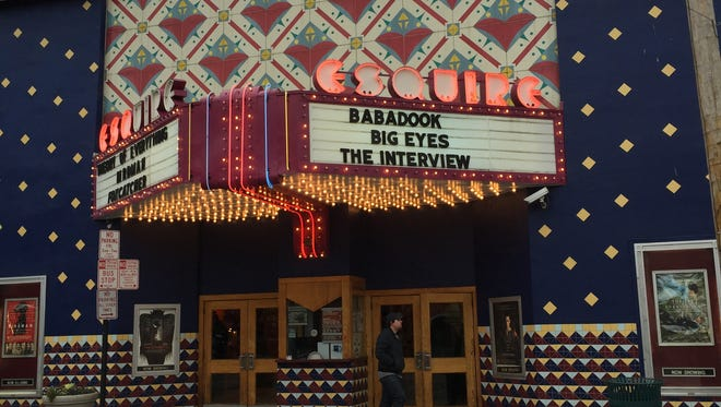 """The Esquire Theatre in Clifton was one of the relatively few U.S. movie theaters to show the controversial movie """"The Interview."""""""