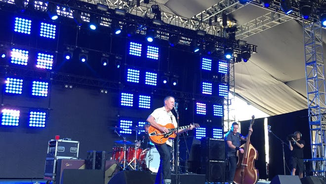 The Reverend Horton Heat performs his patented blend of psychobilly