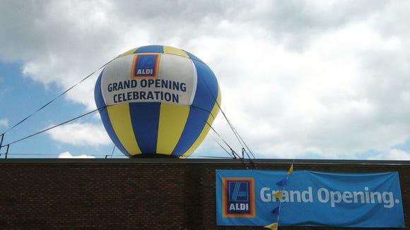 Aldi opened this weekend in #Waynesboro.