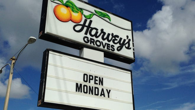 Harvey's Groves, the Rockledge-based fruit grower and shipper, opened Monday.