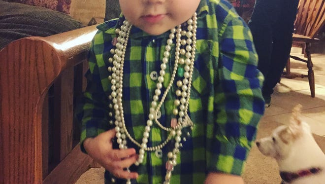 All those saved pennies have earned Shiloh some sweet bling.