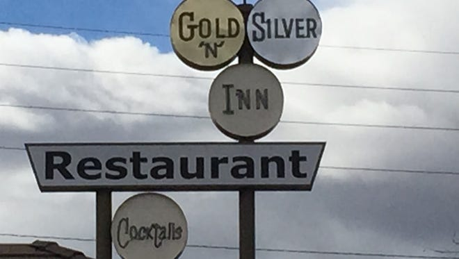 Gold 'N Silver Inn opened in 1956. At brunch on Valentine's Day, it was packed.