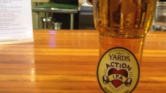 Yards Action IPA was created for Dining Out for Life, and will be available at select restaurants throughout April.